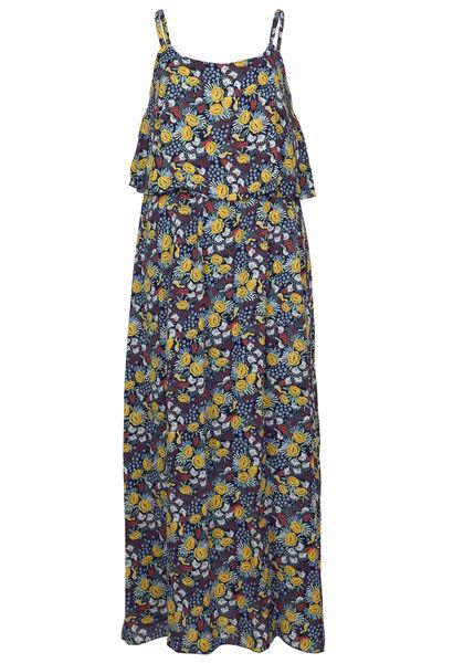 Lange jurk met print - Multicolor