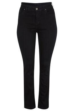 Vormgevende slim jeans met 5 zakken Denim