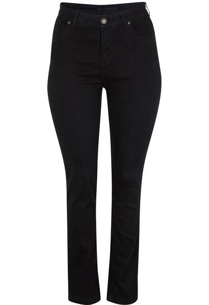 Vormgevende slim jeans met 5 zakken - Denim