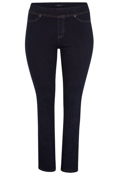 Slim jegging in jeans - Denim