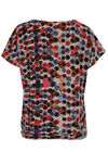 T-shirt in warm tricot, Multicolor