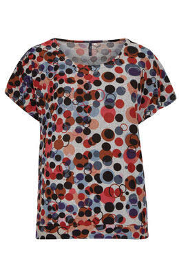 T-shirt in warm tricot Multicolor