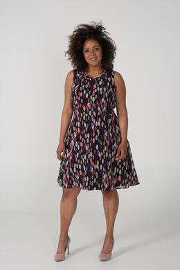 Bedrukte jurk, Multicolor