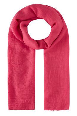 Effen sjaal, Fushia