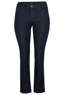 Rechte jeans met 5 zakken Denim