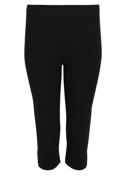 Legging classique en coton bio, Noir