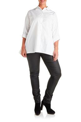 Gecoate SLIM broek, Zwart