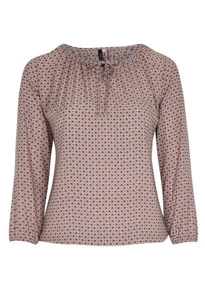 Shirt met minimalistisch dessin - Blush