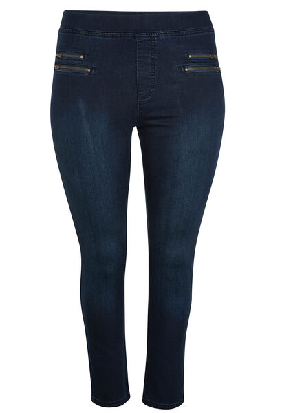 Jegging 7/8ème en jean - Denim