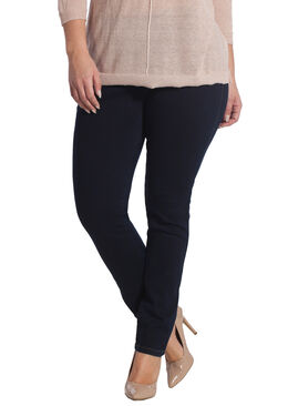 SLIM jegging-jeans. Denim