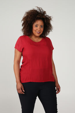 T-shirt bi-matières, Cuivre