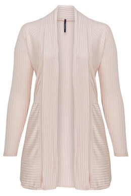 Long gilet irisé, Blush