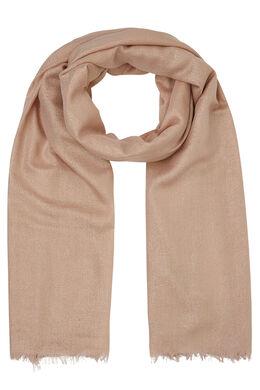 Sjaal met glansdraad, Roze