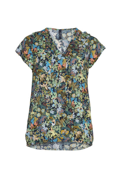 Blouse imprimé jungle - multicolor