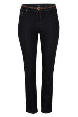 SLIM jeans met 5 zakken, Denim