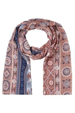 Sjaal met mozaïekprint Roze