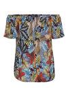 T-shirt imprimé jungle, multicolor