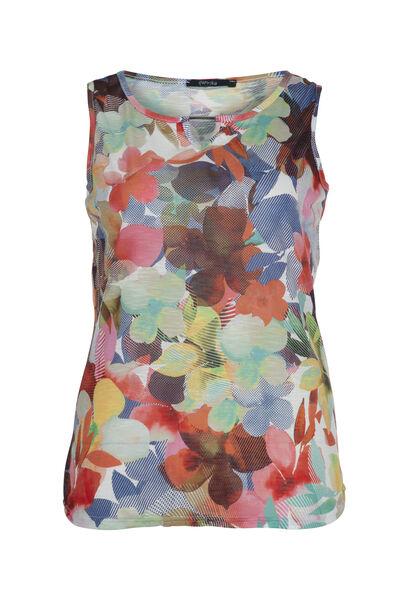 Top met bloemetjesprint - Multicolor