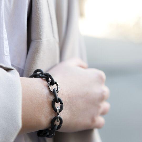 Quotes Silver Bracelet