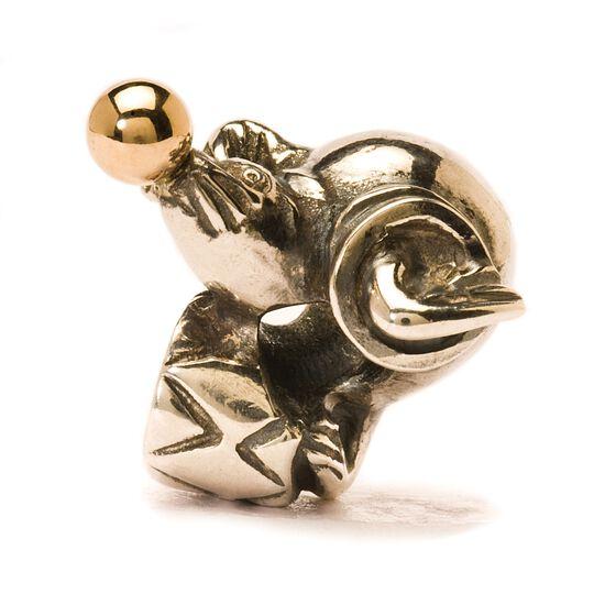 Seelöwe, gold/silber