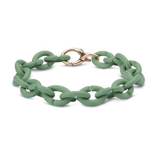 Pale Green Bronze  Bracelet