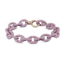 Pastel Violet Bronze Bracelet