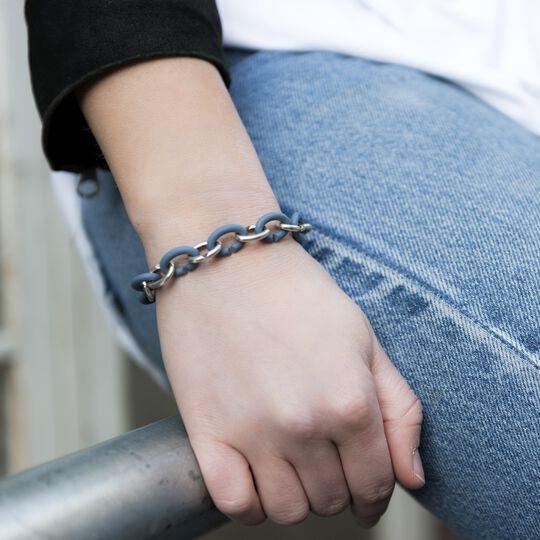 Ocean Silver Bracelet