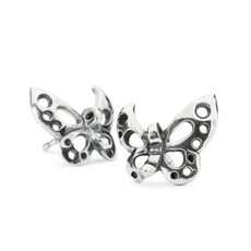 Dancing Butterfly Stud Earrings