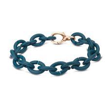 Deep Petrol Bronze Bracelet
