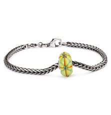 Summer Bushes Silver Bracelet, Bacis Lock
