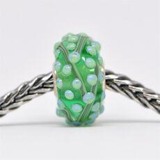Unique Green Bead of Balance