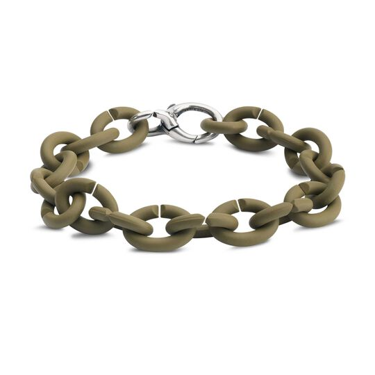 Khaki Silver Bracelet