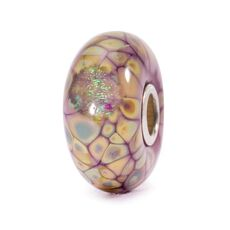 Purple Flower Mosaic Bead