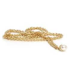 Fantasy Necklace With Pearl, Gold