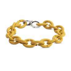 Mellow Yellow Silver Bracelet