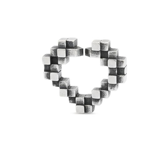 Heart Glimpse, Single Silver Link