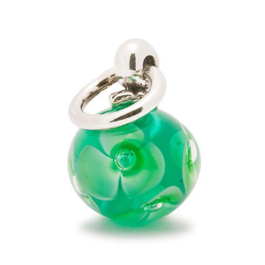 Green Flower Tassel