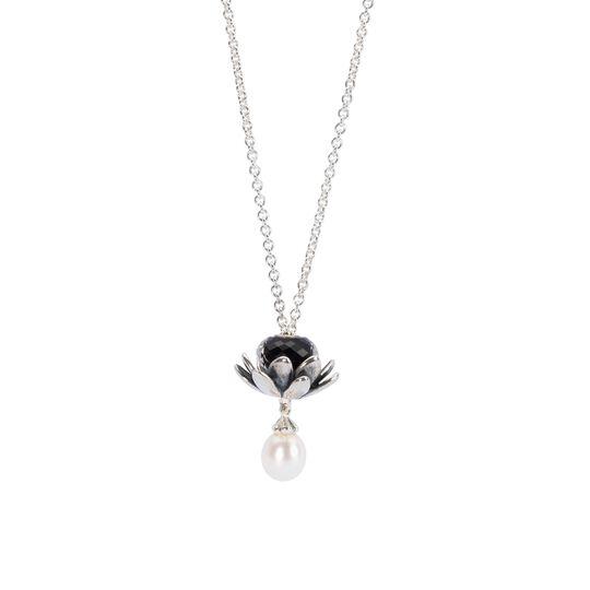 60公分 珍珠银链