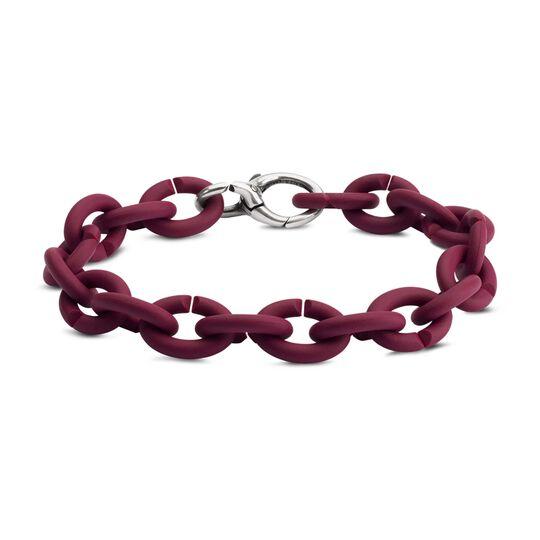 Bordeaux Silver Bracelet