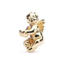 Cherub Bead, Gold