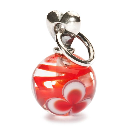 Valentine Love Bead, Red
