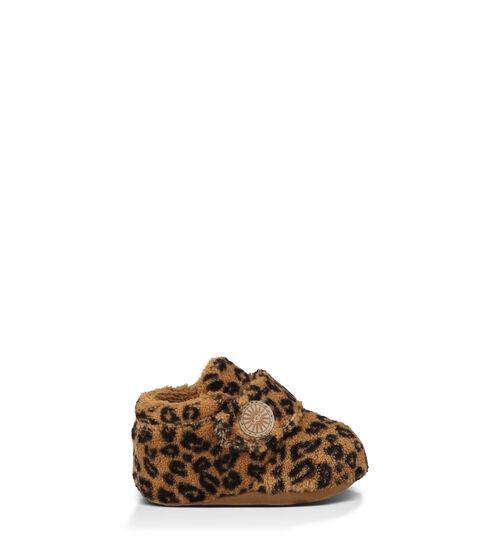 UGG Bixbee Leopard Infants Booties Chestnut Leopard Small (6-12 months)