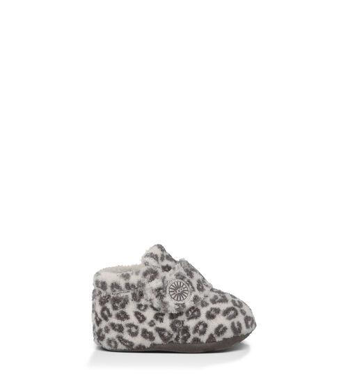 UGG Bixbee Leopard Infants Booties Snow Leopard Extra Small (0-6 months)
