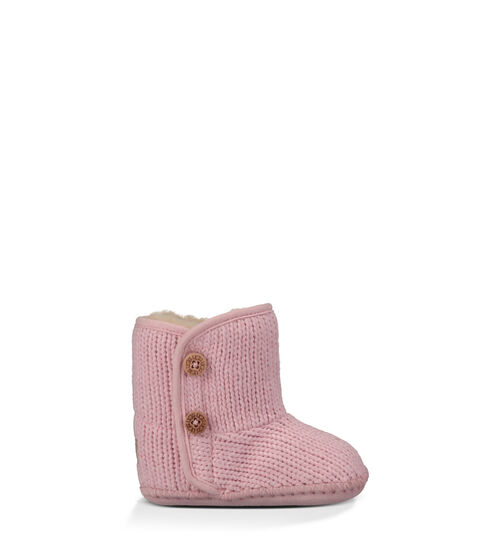 UGG Purl Infants Booties Baby Pink Extras Small (0-6 momths)