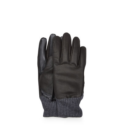 Leather and Knit Smart Glove