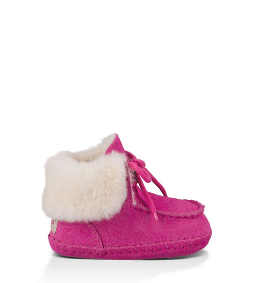 UGG Sparrow Infants Booties Princess Pink Extras Small (0-6 momths)