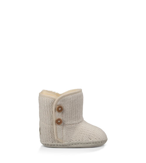 UGG Purl Infants Booties Ivory Medium (12-18 Months)