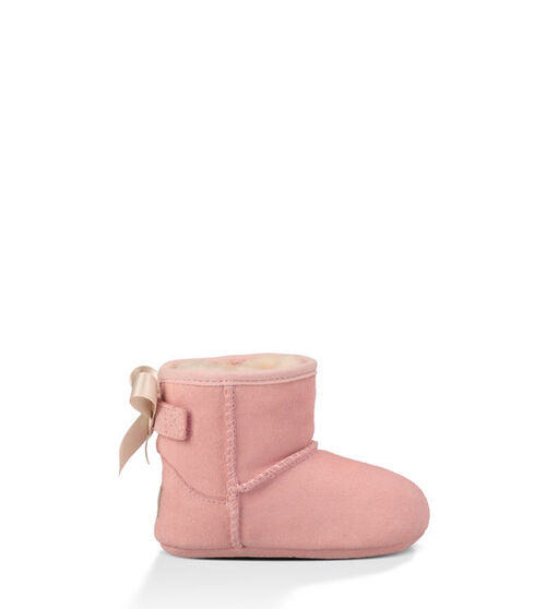 UGG Jesse Bow Infants Booties Baby Pink Small (6-12 months)