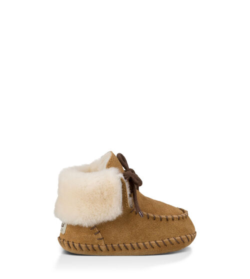 UGG Sparrow Infants Booties Chestnut Extras Small (0-6 momths)