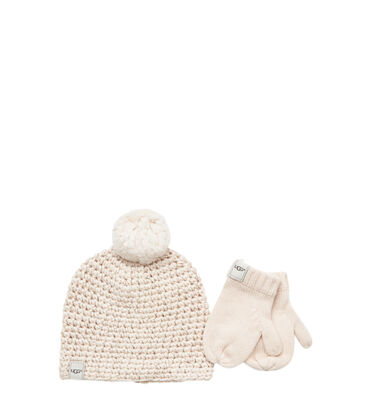 Girls' Hat and Mitten Boxed Set